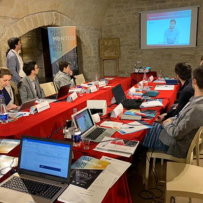 Projeto YODA Mentors apresentado em Itália